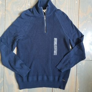 NWT new mens Calvin Klein Jeans navy blue sweater